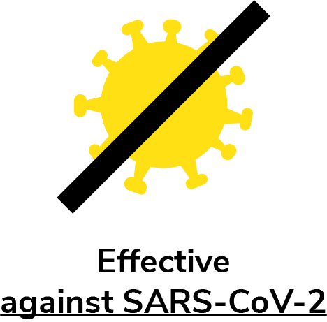 Effective against SARS-CoV-2